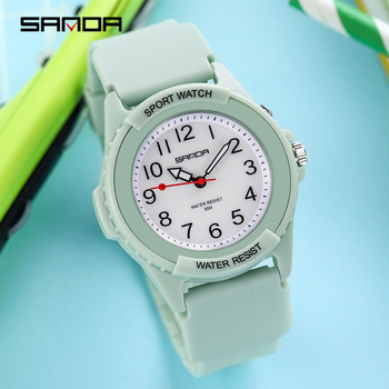 wrist watch women quartz clock brand fashion ulzzang watch blue pink colorful white ladies sport waterproof casual free shiping Wrist Watches Women Quartz Brand Fashion Most Sold Colorful White Pink Green Purple Ladies Sport Waterproof Casual Ulzzang Watch