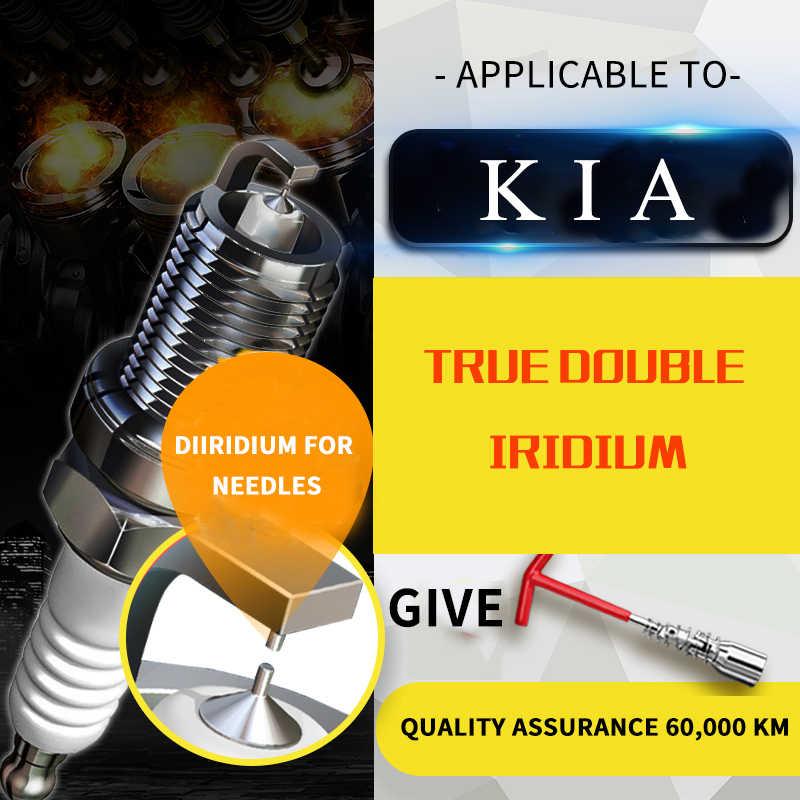 1 pièces/pour KIA VQ (VQ) [2006-2014] 2.2T VQ-R 2.7L voiture bougie Iridium platine bougie