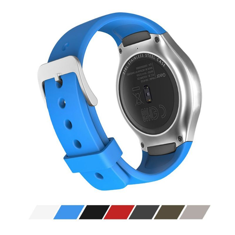 Watchband For Smart Samsung Gear S2 Watch Band Stylish Silicone Replacement Strap Sport Watchbands ремешок для часов
