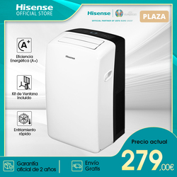 Hisense APH09 portable air conditioning, 9000BTU/h, fast cooling, home air conditioning