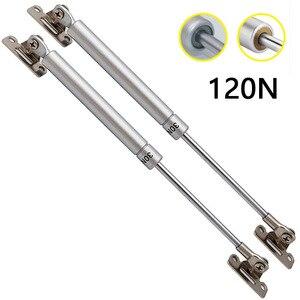 2 × hxm1809 120n/12 kg porta do armário fácil aberto elevador ficar hidráulico macio perto gás para porta do armário elevador up hold sturt pneumático