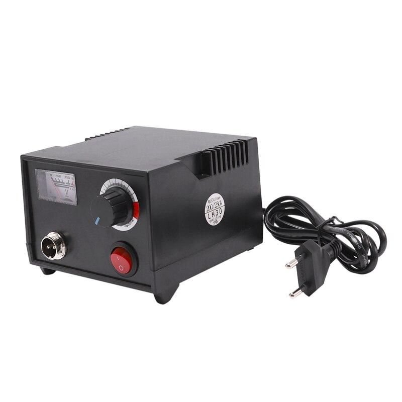 EU Plug,220V Adjustable Temperature Wood Burner Pyrography Pen Burning Machine Gourd Crafts Tool Set With Welding Wire