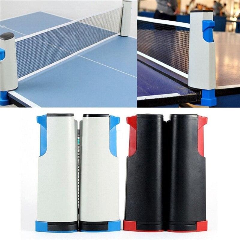Telescopic TableTennis Net TableTennis Table Grid Plastic Sturdy Portable Retractable Adjustable Net Rack Suitable For Any Table