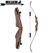 1pc 62inch 20-50lbs Archery Recurve Bow With Stabilizer Lamination Limbs Right Hand Takedown Outdoor Shooting Accessories