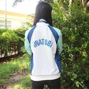 Image 3 - אנימה חינם! Iwatobi מועדון השחייה Haruka Nanase Cosplay תלבושות מעיל יוניסקס הסווטשרט תיכון ספורט ללבוש עבור גברים נשים יוניסקס