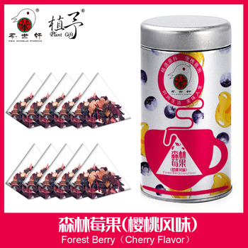 3g*10pcs Forest Berry Skin Care Mask DIY Raw Materials Tea Bag Rose Flower, Mango, Pineapple, Blueberry, Grape