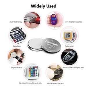 Image 4 - パナソニック5個3v CR2032 cr 2032リチウム電池腕時計pilasボタンコインためcelula時計コンピュータのマザーボード電卓