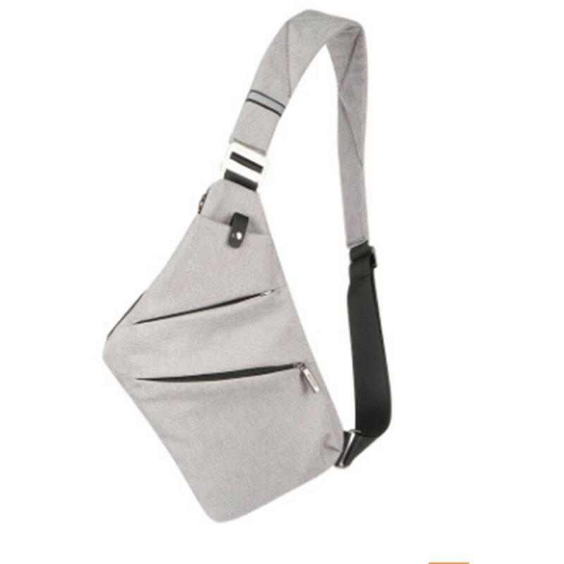 New  Man Boy With USB Wasserdicht Charging Chest Man Pack Crossbody Shoulder Bag