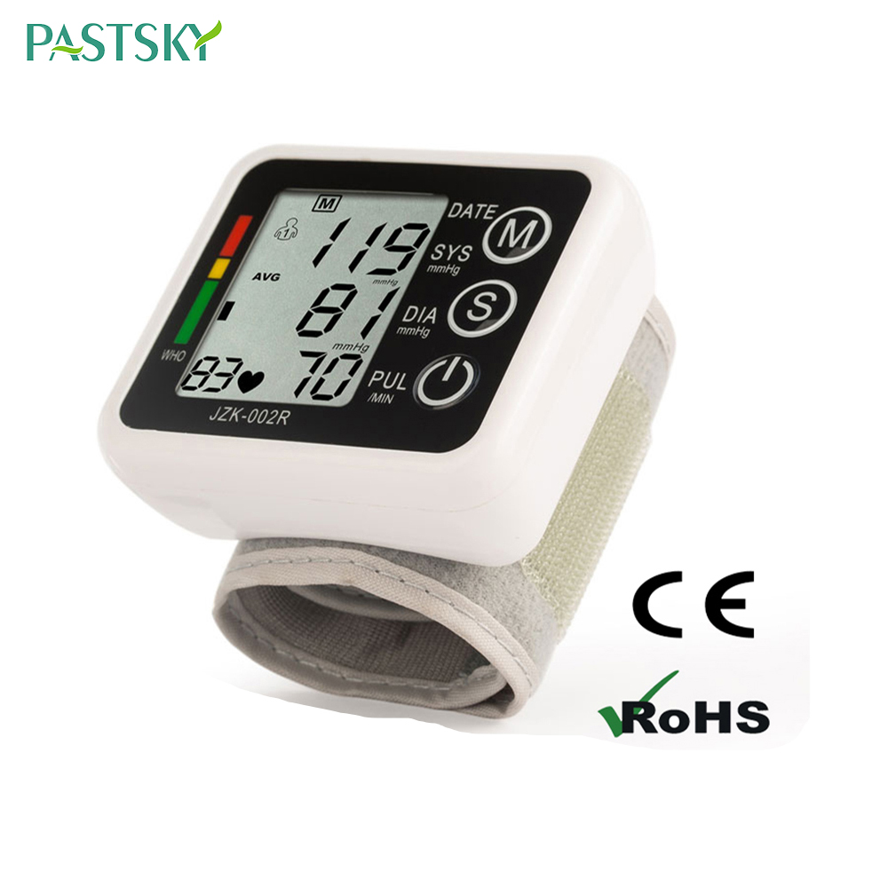 Image 2 - English Voice Digital Cuff Wrist Blood Pressure Monitor 