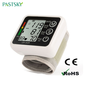 Image 2 - English Voice Digital Cuff Wrist Blood Pressure Monitor Sphygmomanometer Medical Equipment Health Care Measurement LCD Display