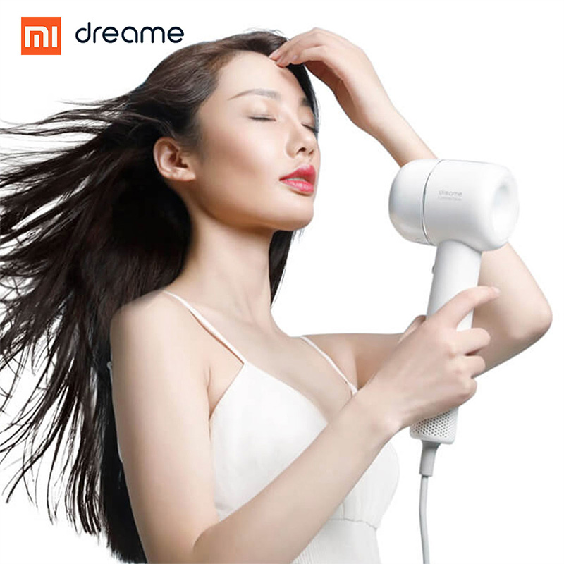 Image 3 - New XIAOMI Dreame Hair Dryer 1400W  110,000 rpm Intelligent Temperature Control Hair Dryer Negative Ion Men And Women Home-in Hair Dryers from Home Appliances