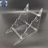 Novo Design Faca Acrílico Display Stand/Plexiglass Exibição Faca Titular/Titular Faca EDC|Facas| |  -