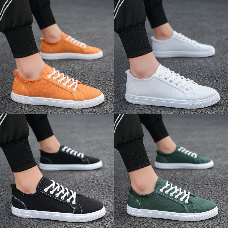 Новинка 2021, летняя мужская обувь, трендовая дышащая универсальная модная обувь, повседневная обувь для доски, маленькая белая обувь, спорти...
