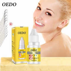 OEDO Teeth Whitening Essence Liquid Oral Hygiene Cleaning Removing Plaque Stains Brightening Teeth Whitening Oral Hygiene 10ml