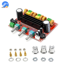 لوحة مكبر صوت استريو TPA3116D2 ، بطاقة صوت رقمية عالية الطاقة ، 2 × 50 واط 100 واط ، وحدة صوت لمكبر الصوت