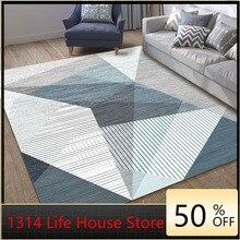 1314 Geometric Simplicity Living Room Carpet Home Living Room Coffee Table Pad 3D Printed Carpet Floor Mat  Rugs for Bedroom