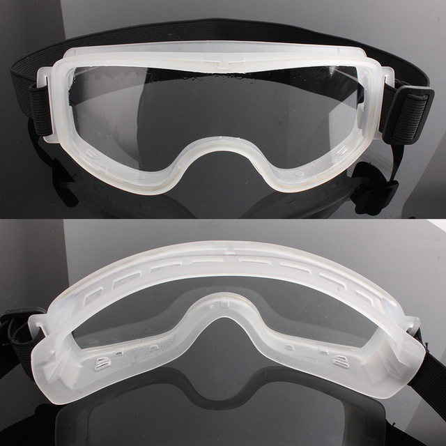 Batfox medical goggles dustproof sandproof transparent protective glasses goggles for chemical research bicycle cycling snow ski