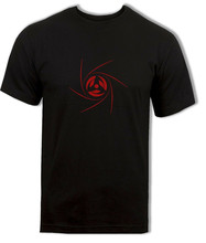 Naruto T-shirt, Obito Uchiha Sharingan Tee, Itachi, Madara, Sasuke anime Top Gratis Verzending Light Tee Shirt(China)