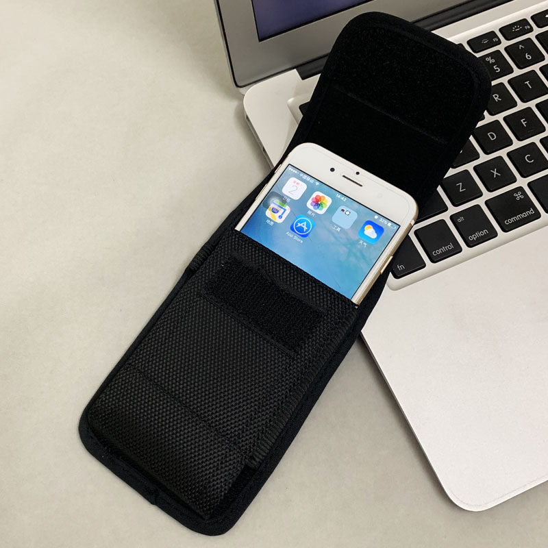 Universal Phone Pouch For <font><b>iPhone</b></font> X 11 8 7 Plus <font><b>Xr</b></font> Xs Max <font><b>Belt</b></font> Clip Holster Waist Phone Bag Flip Cover For <font><b>iPhone</b></font> 11 Pro Max <font><b>Case</b></font> image