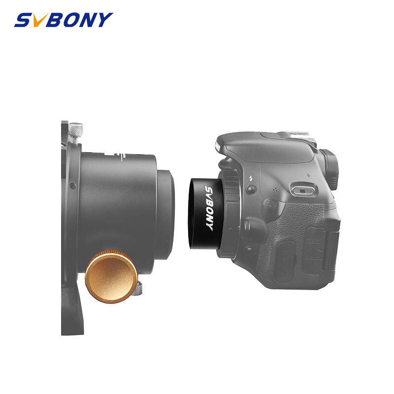 """SVBONY 2"""" T to M42*0.75 Adapter Thread for Astronomy Monocular Telescope Mount Adapters Accept 2"""" Filter and Camera F9161A"""