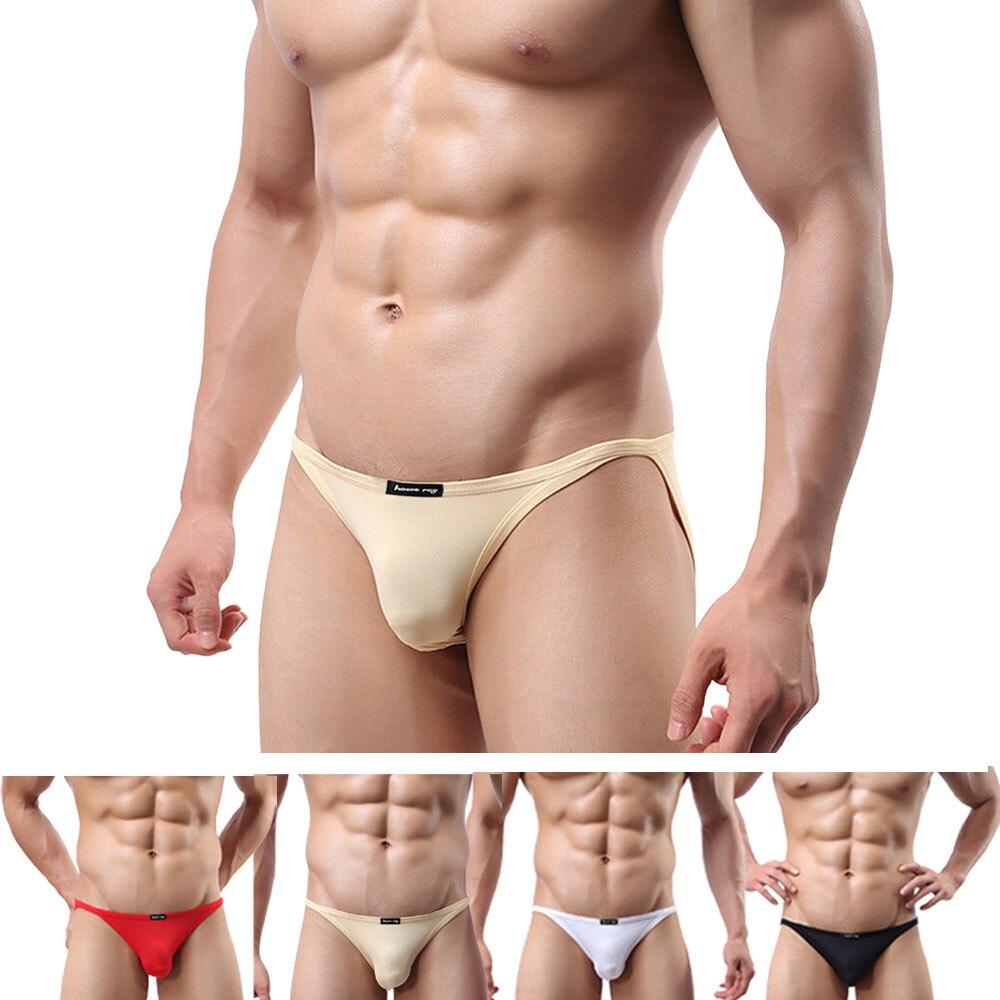 VARIOUS Men/'s Skimpy Smooth Ultra Thin Polyester Spandex Panty Brief Underwear