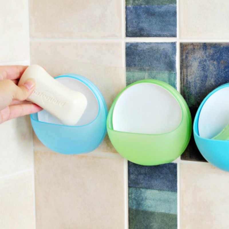 Surf 1pc przyssawka mydło wc kreatywny proste mydło rack szczoteczka do zębów danie kuchnia uchwyt ścienny łazienka prysznic akcesoria @ 4