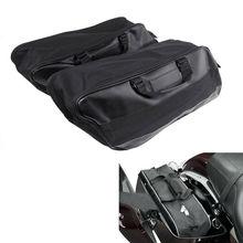 Motorcycle Hard Saddlebag Liners Luggage Travel Paks for Harley Touring FLHT FLHR 1997-13