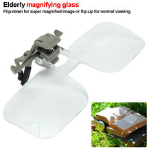 Magnifier Folding Handfree Clip On Clear Magnifying Glasses