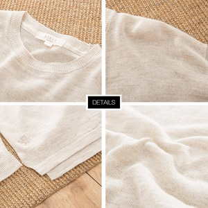 Image 3 - Metersbonwe New Brand Linen Sweater Men  Autumn Fashion Long Sleeve Knitted Men Cotton Sweater High Quality Clothes