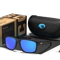 Линзами в стиле унисекс спортивные Коста-солнцезащитные очки для Для мужчин брендовые Солнцезащитные очки Мужские COSTA Del Mar солнцезащитные ...