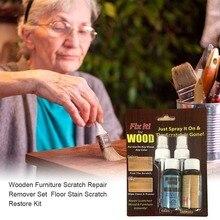 Деревянная мебель пол царапины быстро удаляет ремонт краски Refinishing паста ремонт спрей