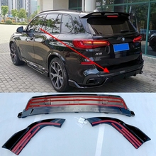 Rear lip rear spoiler for BMW X5 G05 2019 ABS body kit for X5 G05 front spoiler side skirt rear diffuser front grille ABS materi