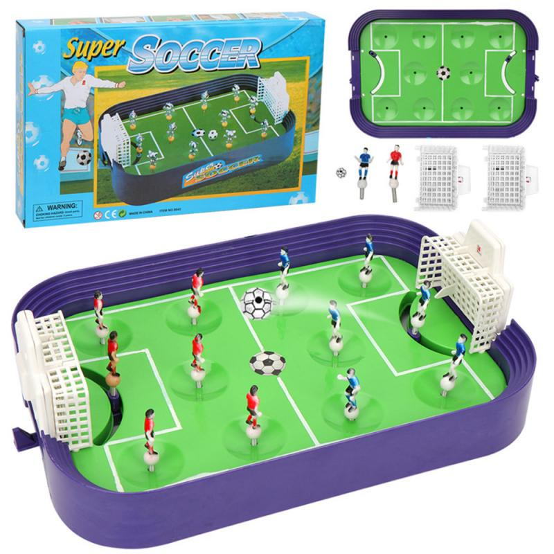 Funny Mini Table Top Football Game Set Fun Desktop Soccer Family Game Kids Toys Child Gifts Hot In Sale image
