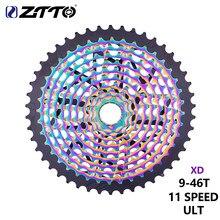 ZTTO MTB велосипед Ultimate 11 Скорость 9-46T ULT кассета 11 S 46 т свободного хода Сверхлегкий 11v прочные звездочки 11 S XD K7 для горного велосипеда