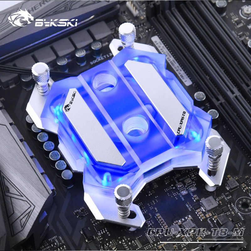 Bloque de agua de la CPU Bykski para ryzen 5 3600 ryzen 5/3/7 AM4/AM3 CPU Cooler soporte 3pin/4pin/SNCY radiador de placa base