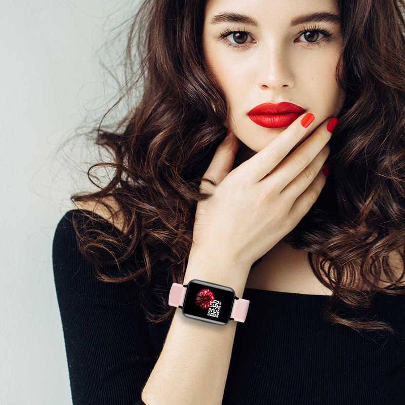 B57 умные часы водонепроницаемые спортивные для Iphone телефон Smartwatch монитор сердечного ритма функции кровяного давления для женщин мужчин малыш