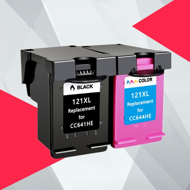 Compatible 121XL ink cartridge for <font><b>hp</b></font> <font><b>121</b></font> XL for hp121 Deskjet D2563 F4283 F2423 F2483 F2493 F4213 F4275 F4283 F4583 image