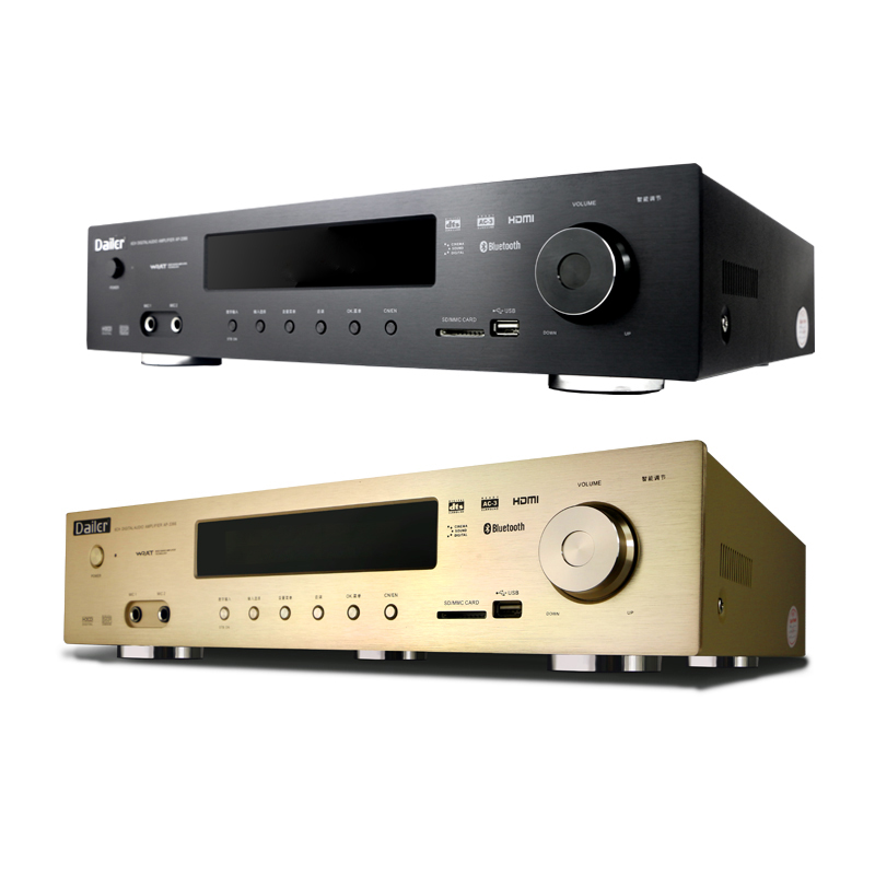 HDMI 4K 1080P HD DTS Dolby AC-3 Home Theater C5200 A1943 Chip Bluetooth Lossless 5.1-channel 1200W High-power AV Amplifier
