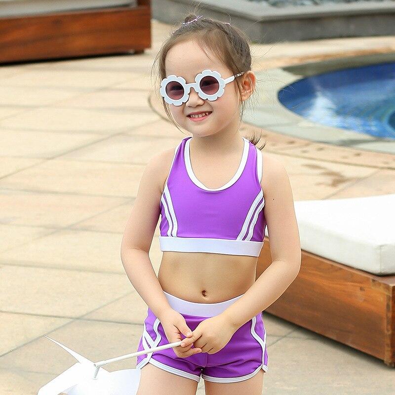 2019 KID'S Swimwear Girls Dress South Korea Cute Princess Little Girl BABY'S Swimsuit Baby Swim Bathing Suit