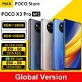 Глобальная версия POCO X3 Pro 128 ГБ/256 ГБ Snapdragon 860 смартфон NFC 6,67» 120 Гц DotDisplay 5160 мА/ч, 33 Вт зарядка Quad Камера