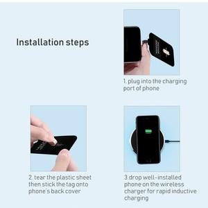 Image 5 - Redmi Note 8T Qi bezprzewodowe ładowanie ładowarka rodzaj USB C odbiornik patch bag bezpieczne bezprzewodowe ładowanie dla Xiaomi Redmi Note 8T Pro
