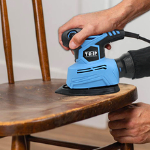 Woodworking-Tools Sanding-Machine Detail Mouse-Sander Dust-Collection Electric TASP