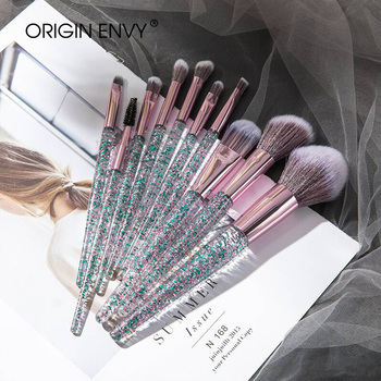 ORIGIN ENVY 10pcs Professional makeup brushes set cosmetic brush beauty tool kits for Foundation eyebrow powder lip eye shadow professional 24pcs pink cosmetic makeup brushes set foundation eye shadow eyeliner cream powder brush kits pouch bag case