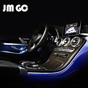 LED ambient light enhancement for Mercedes benz W205 X253 W177 3-color/64-color interior ambient light Original car control