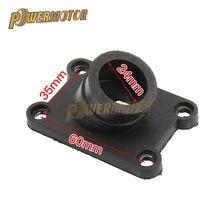 Botte de collecteur d'admission en caoutchouc pour moto, pour 50SX 2002 – 2008 50 SX Pro Senior SX 50 50SX LC 50cc 65 SX sx Pro Senior MINI