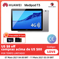 Huawei MediaPad T3 10 2 Гб ОЗУ 32 Гб ПЗУ AGS-W09/AGS-L09 планшетный ПК SnapDragon 425 Восьмиядерный 9,6 дюймов Android 7,0 1280*800 экран