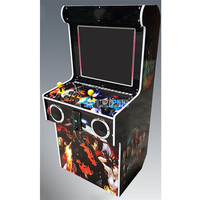 9S 19 inch Screen Fighting Game Machine 2255 Classical Games Console Mini Fighter Cabinet Arcade Machine With 10pcs 3D Game