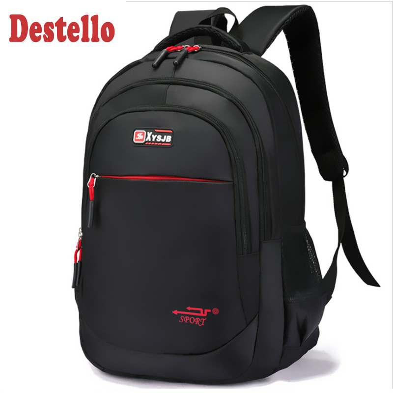 Business 15.6 Inch Laptop Backpack Waterproof Large Casual Style Male Laptop Backpack Men Mochila High Quality Nylon Travel Bag
