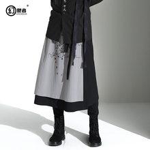 [huanxiangzhe] юбка унисекс в готическом стиле для мужчин и