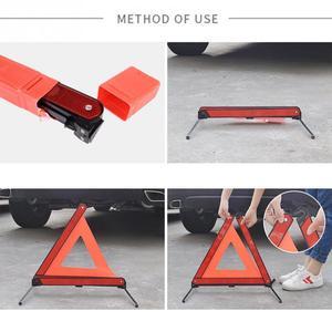 Image 4 - מתקפל רכב רכב חירום התמוטטות אזהרת סימן משולש להפסיק סימן רעיוני כביש בטיחות מעשי חלקי רכב